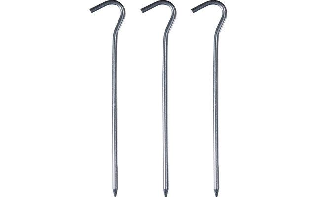 Bent Aluminium Heringe 3er Pack