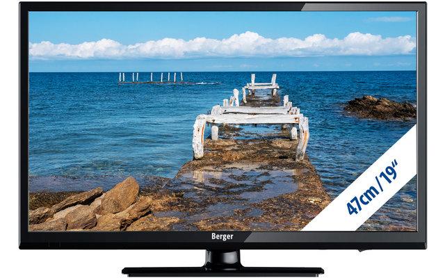 Berger Camping TV LED Fernseher Bluetooth 19 Zoll