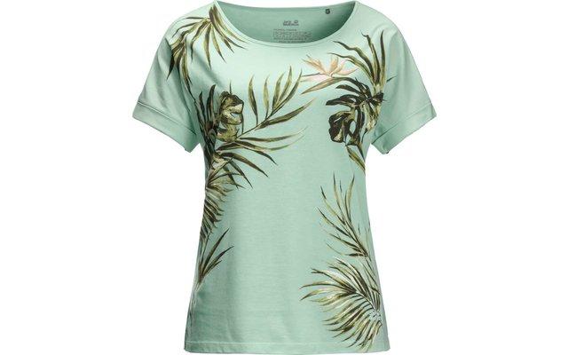 Jack Wolfskin Tropical Leaf Damen T-Shirt