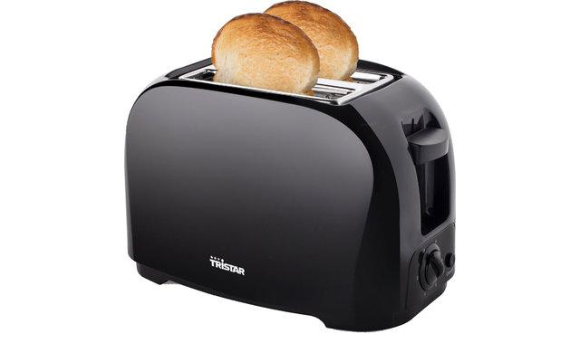 Tristar BR-1025 Toaster mit Brötchenaufsatz Schwarz 800 W