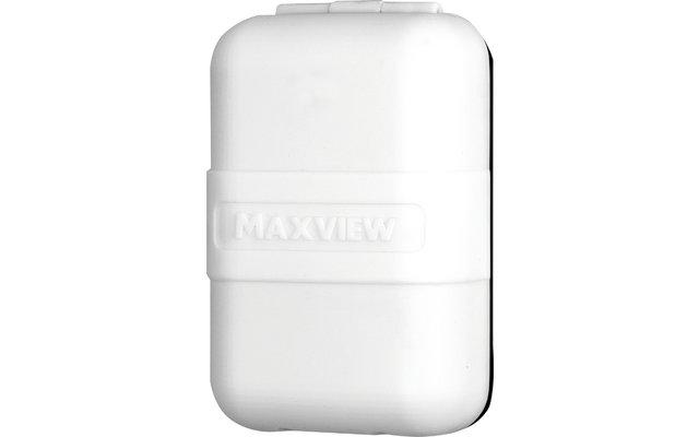 Maxview Sat-Außensteckdose Twin F-Anschluss / Koax Anthrazit