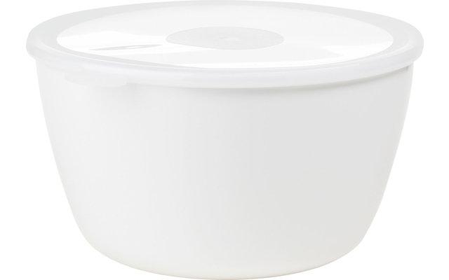Mepal Volumia Servierschale mit Deckel 3 Liter weiß