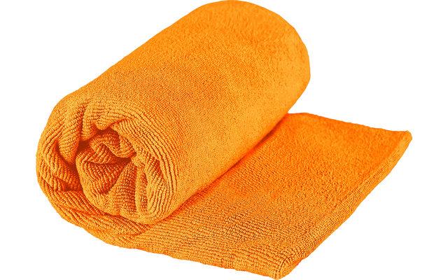 Sea to Summit TEK Frottee Mikrofaser Handtuch Small Orange