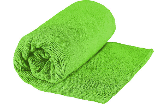 Sea to Summit TEK Frottee Mikrofaser Handtuch Small Lime