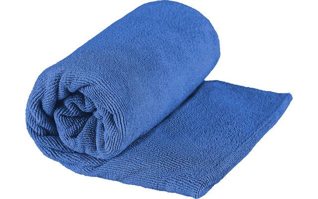 Sea to Summit TEK Frottee Mikrofaser Handtuch Small Cobalt Blau