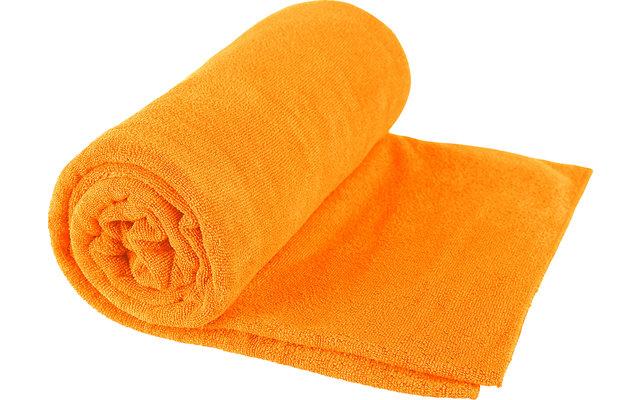 Sea to Summit TEK Frottee Mikrofaser Handtuch X-Large Orange