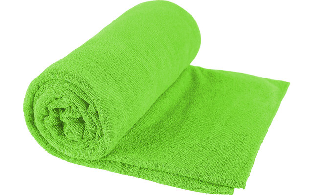 Sea to Summit TEK Frottee Mikrofaser Handtuch X-Large Lime