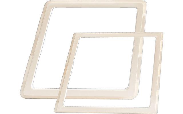 MPK Adapterrahmen für Dachhauben 28 x 28 cm