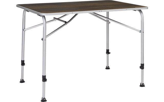 Berger Livenza Campingtisch Dunkel 80 x 60 cm