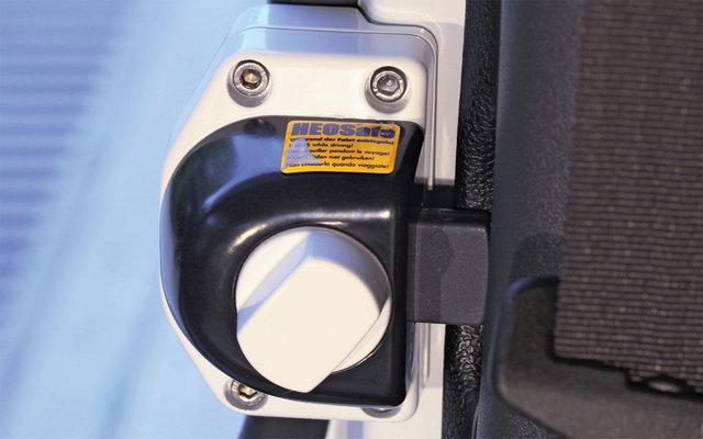 HEOSafe Renault Master, Opel Movano 2000-2010, Iveco Daily 2000-2014 Diebstahlschutzschlösser 2 Stück mit Arretierung