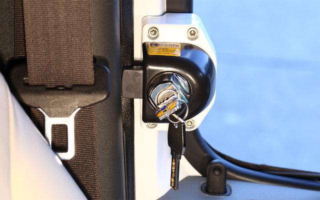 HEOSafe Renault Master, Opel Movano 2000-2010, Iveco Daily 2000-2014 Diebstahlschutzschlösser 2 Stück abschließbar