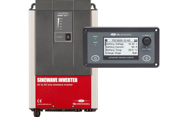 tbs electronis Powersine PS160-12 Wechselrichter mit RemoteControl 150 Watt