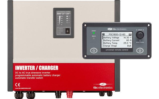 Powersine Combi Set 2000-12-80 Universal Control Wechselrichter 1800 W Dauerleistung
