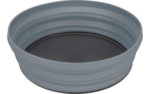 Sea to Summit X-Bowl Faltbare Schüssel Light Grey 650 ml