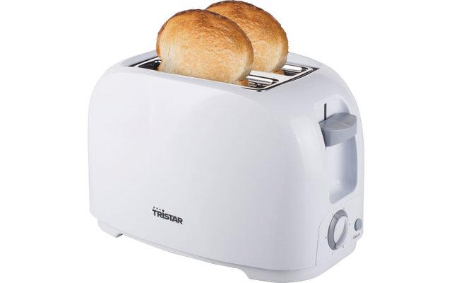 Tristar BR-1013 Toaster mit Brötchenaufsatz Weiß 800 W