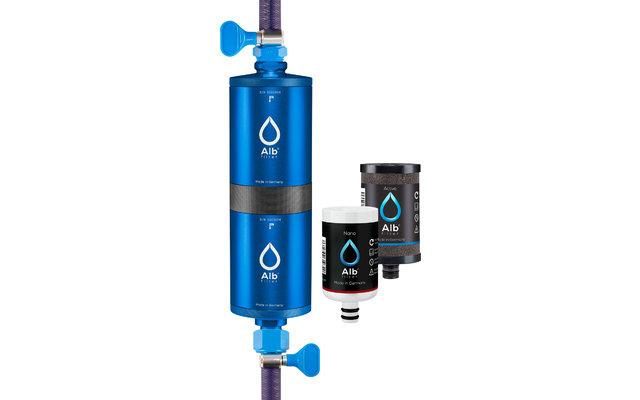 Alb Filter Fusion Active+Nano Trinkwasserfilter - Camping-Set: Travel