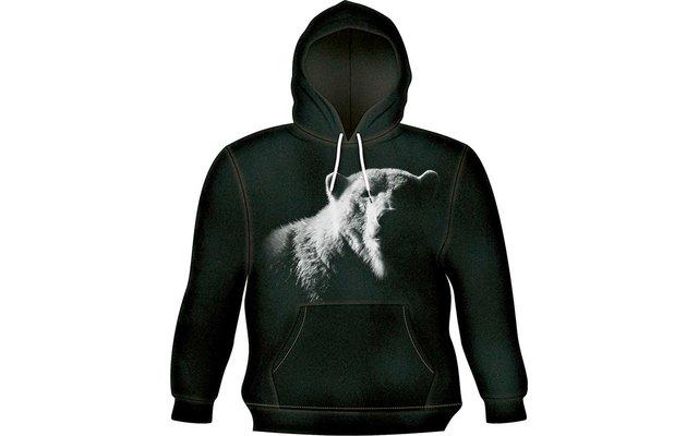 Harlequin Bear Shadow Kapuzen Sweatshirt