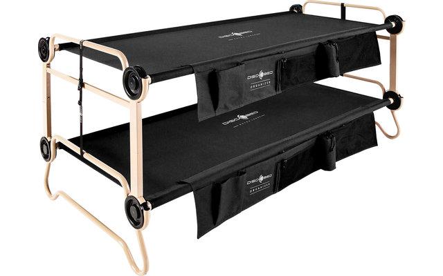 Disc-O-Bed Stockbett XL Schwarz
