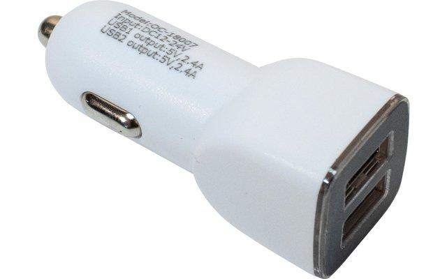 Outchair 5V USB Autoadapter 2-fach