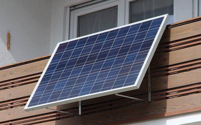 Sunset SUNpay 300 Solaranlage 166x100 cm inkl. Modulwechselrichter