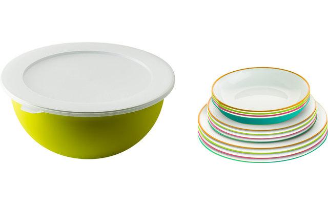Berger Kunststoff Teller-Set 14-tlg.