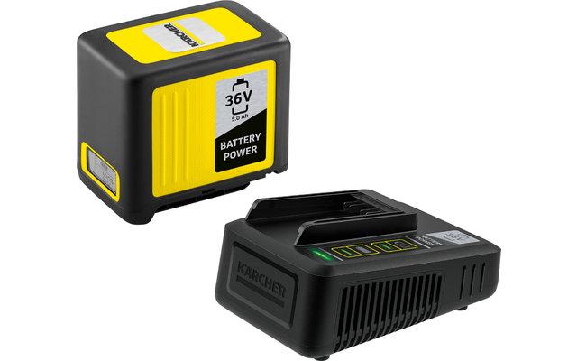 Kärcher Battery Power 36/50 Starter Kit Wechselakku mit Schnellladegerät 36 V / 5.0 Ah