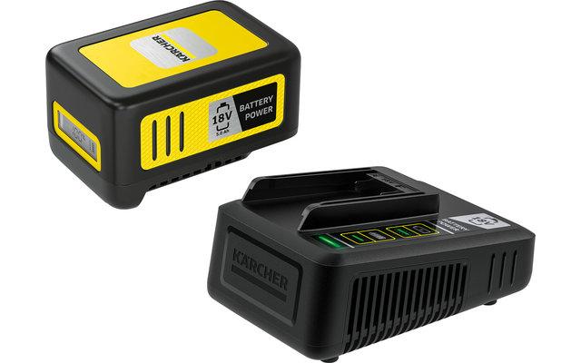Kärcher Battery Power 18/50 Starter Kit Wechselakku mit Schnellladegerät 18 V / 5.0 Ah