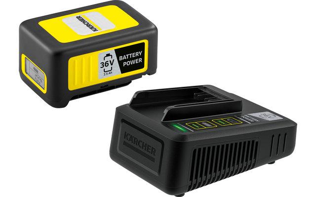 Kärcher Battery Power 36/25 Starter Kit Wechselakku mit Schnellladegerät 36 V / 2.5 Ah