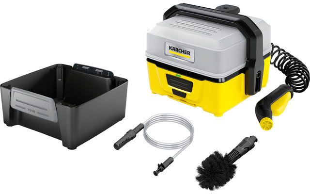 Kärcher Mobile Outdoor Cleaner OC 3 Akku-Niedrigdruckreiniger inklusive  Adventure Box
