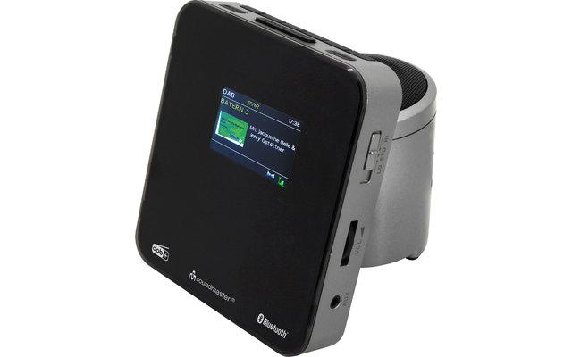 Soundmaster UR260SI DAB+/UKW Uhrenradio mit Bluetooth