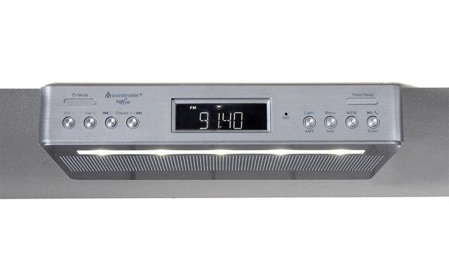 Soundmaster UR2045SI DAB+/UKW Unterbauradio mit Bluetooth