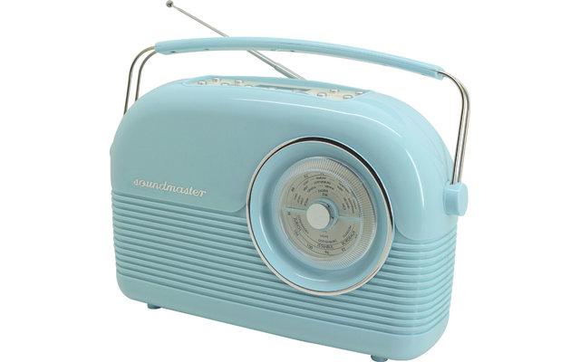 Soundmaster DAB450BL DAB+/UKW Retro-Radio