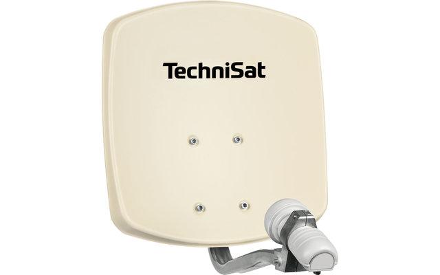 TechniSat Digidish 33 SAT-Antenne (Single-LNB) beige