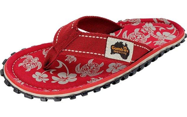 Gumbies Pacific Red Zehenstegsandale