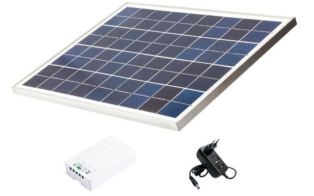Fosera Power Line LSHS Solarset mit Batteriebox (ohne Lampen)