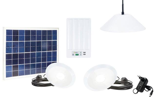 Fosera Power Line LSHS Solarset mit Batteriebox (inkl. Lampen)