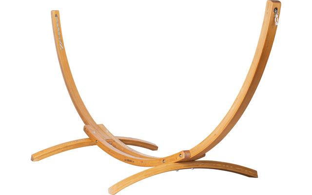 La Siesta Elipso Nature Holz-Hängemattengestell für Doppel-Hängematten