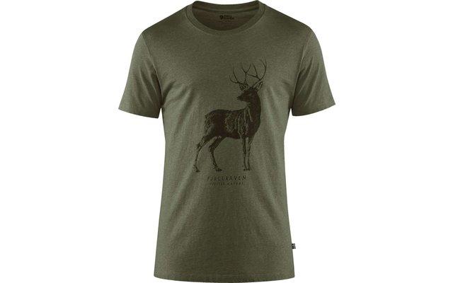 Fjällräven Deer Print Herren Shirt