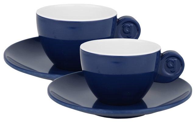 Gimex Espressotassen 2er Set Blau