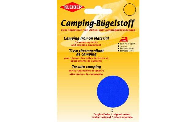 Kleiber Camping-Bügelstoff aus Original-Zeltstoff Atlantik