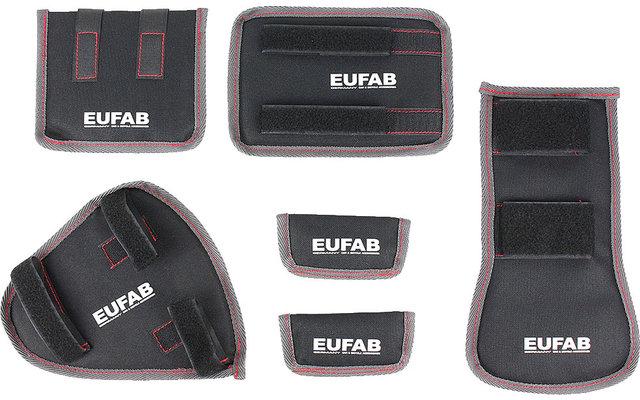 Eufab Fahrrad Transportschutz 6-teilig