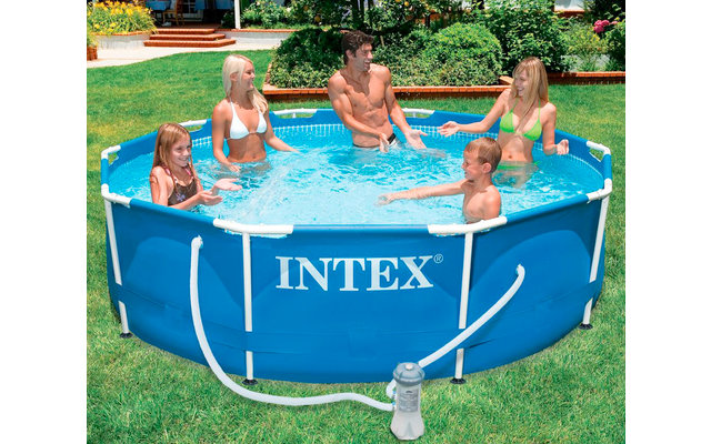 Intex Stahlrahmen-Pool-Set 305 x 76 cm