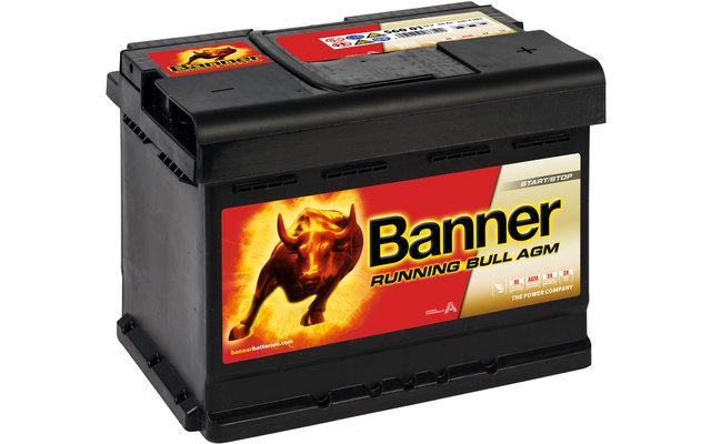 Banner Running Bull AGM 56001 Fahrzeugbatterie 12 V / 60 Ah