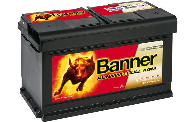 Banner Running Bull AGM 58001 Fahrzeugbatterie 12 V / 80 Ah