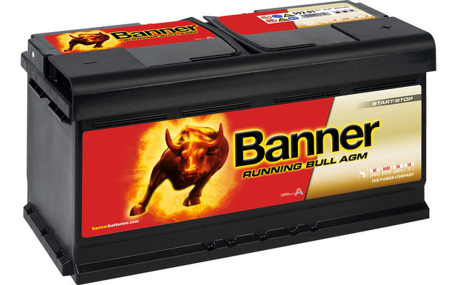 Banner Running Bull AGM 59201 Fahrzeugbatterie 12 V / 92 Ah