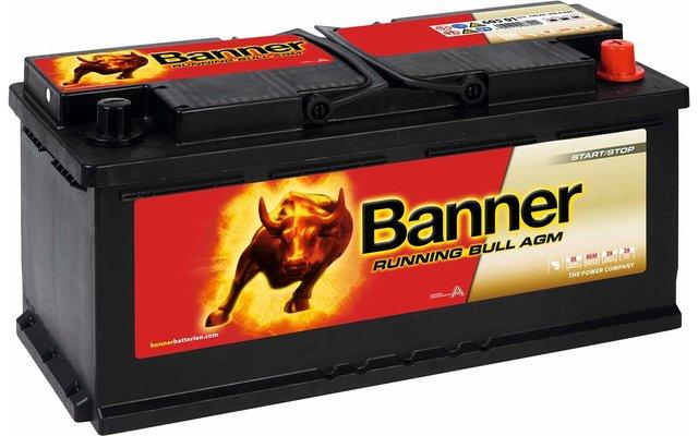 Banner Running Bull AGM 60501 Fahrzeugbatterie 12 V / 105 Ah