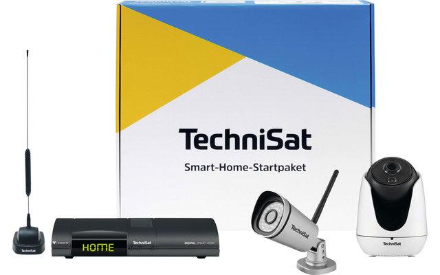 TechniSat Kamera Smart-Home-Startpaket Video-Überwachungsanlage inkl. DigiPal Zentraleinheit / Receiver