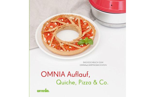 Omnina Kochbuch - Auflauf, Quiche, Pizza & Co.