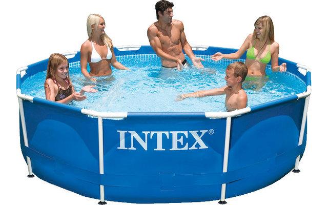 Intex Metal Frame Stahlrahmen-Pool 366 x 76 cm