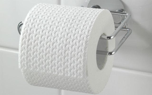 Wenko Turbo-Loc Edelstahl Toilettenpapierhalter